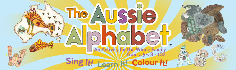 The Aussie Alphabet - Multi sensorial educational kit